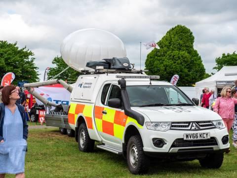 BT emergency response vehicle