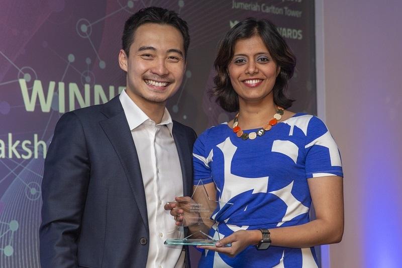 Vidhya Karthikeyan award winner